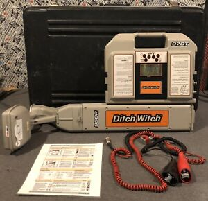 Ditch Witch 950r 970t Underground Subsite Pipe Cable Locator System W Case