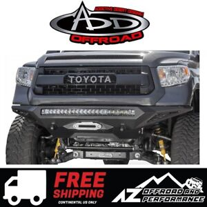 Add Stealth Fighter Winch Front Bumper For 2014 2019 Toyota Tundra