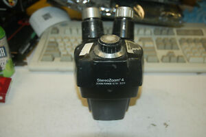 Bausch Lomb Stereozoom 4 7x 3x Microscope Head No Eyepieces Tested Working