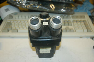Bausch Lomb Stereozoom 1x 2 5x Microscope Head No Eyepieces Tested Working