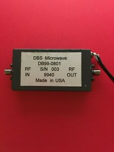 Dbs Microwave Db99 0801 Frequency Doubler