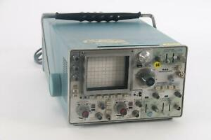 As Is Tektronix 485 Oscilloscope 2 channel 350mhz With Option 4