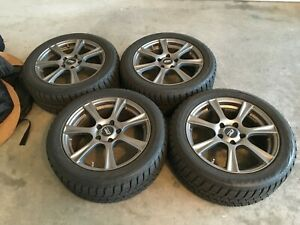 225 50r 17 Bridgestone Blizzak Ws80 Tire 17x7 5 Sport Edition A8 Wheel Set