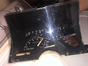 1992 Chevy Gmc Truck 1500 Instrument Gauge Cluster With Tach