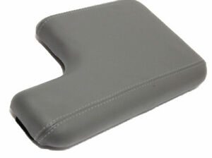 Fits 00 06 Ford Ranger Gray Real Leather Console Lid Armrest Cover Wcup Holder