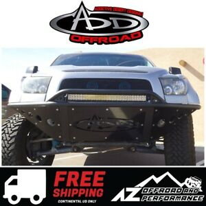 Add Stealth Front Bumper Tube Black For 2007 2013 Toyota Tundra