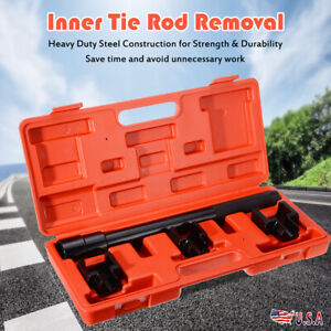 Auto Inner Tie Rod Removal Removal Installation Tool Set Dual Tie Rod Tools New