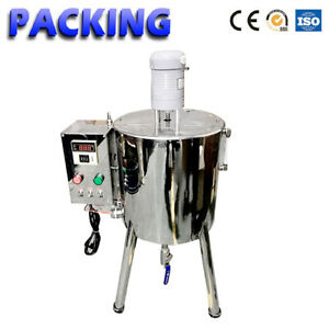30l 8gal Lipstick Filling Machine Hand Soap Made Filler With Heat Stirred Tank