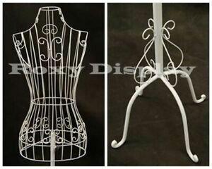 Female Metal Wire Form With Antique Metal Base ty xy2302w
