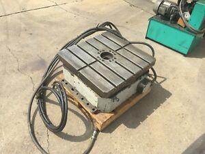 23 6 Exact Machinery 90 Degree Horizontal Indexer Indexing Table ct 600 4d