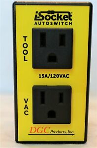 Dgc Products I socket Intelligent Autoswitch With Ports For Power Tool
