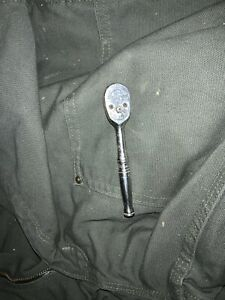 Snap on 1 4 Drive Standard Handle Ratchet Made In Usa