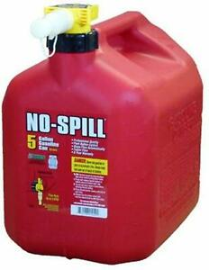 No spill 1450 5 gallon Poly Gas Can carb Compliant brand New