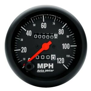 Autometer 2692 Z Series Mechanical Speedometer 120 Mph 3 3 8 Inch