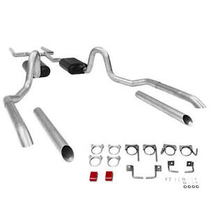 Flowmaster 17119 1964 1972 Chevelle Gto Gs 442 2 5 Header back Exhaust System