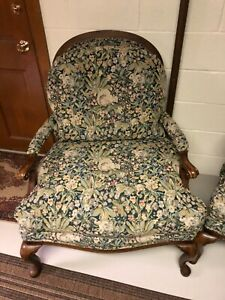 Two French Provincial Arm Chairs