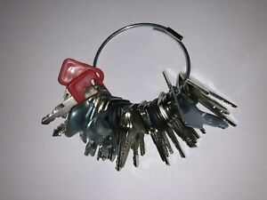 31 Keys Heavy Construction Equipment Ignition Start Starter Key Set New