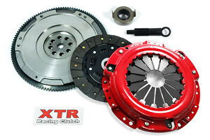 Xtr Stage 2 Clutch Kit W Hd Flywheel For Acura Cl Honda Accord Prelude 2 2l 2 3l