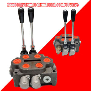 Hydraulic Control Valve 2 Spool Ractors Loaders Log Splitter3 4 Bsp In out Port