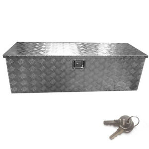 New Truck Bed Tool Box 49 Storage For Truck Pickup Bed Trailer Tongue W Lock Us