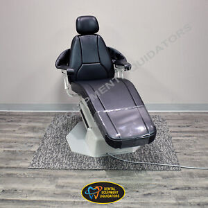Adec Dental Patient Chair A dec 1005 Priority W upgraded Upholstery headrest