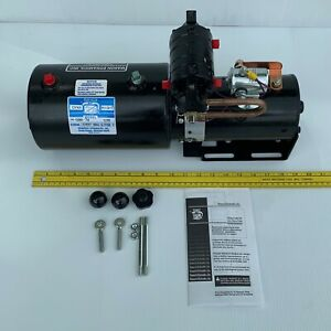 New Made In Usa Concentric Snow Plow Hydraulic Power Units 12 Vdc Monarch M5007w