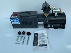 New Made In Usa Concentric Snow Plow Hydraulic Power Unit 12v Dc Monarch M5007w