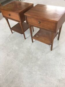 Vintage End Tables Set