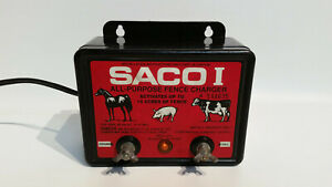 Saco I Electric Fence Charger Ac powered 10 Acres Of Fence Tested