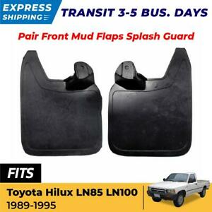Front Mud Flaps Splash Guard Fit For Toyota Hilux Ln85 Mk3 Ute Pickup 1989 95 Ex