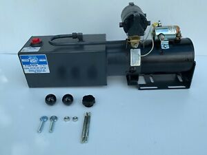 New Made In Usa Concentric Snow Plow Hydraulic Power Unit 12vdc Monarch M5000126
