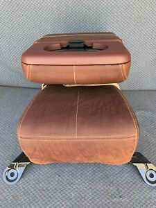 2008 To 2010 King Ranch Jumpseat 20 Brown Leather Low Back
