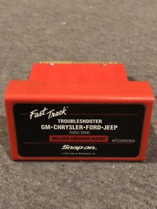 Snap on 2000 Fast track Troubleshooter Cartridge Mt25002900 For Mt2500