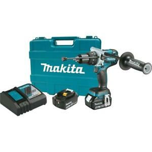 Makita Xph07tb 18 volt Lxt 1 2 Brushless Cordless Hammer Drill Kit Battery Case