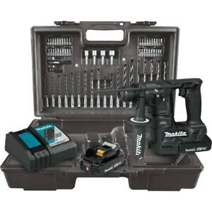Makita Xrh06rbx 18v Lxt Sub compact Brushless Cordless 11 16 Rotary Hammer Kit