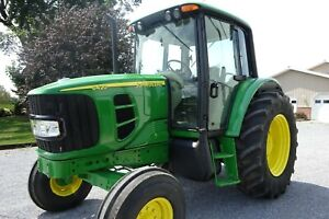 6420 05 John Deere Tractor 104 Hp Turbo Charged Triple Remotes Dual Pto