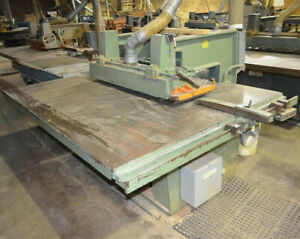 Diehl Sl 52 Straight Line Rip Saw Left Hand