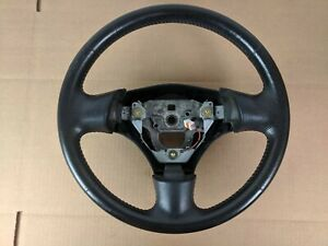 1999 2005 Mazdaspeed Msm Mazda Miata Oem Nb 99 05 Steering Wheel Red Stitch 2