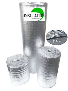 Smartshield 5mm Reflective Insulation Roll Foam Core Radiant Barrier Aluminum