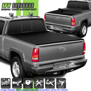 Soft Roll Up Tonneau Cover For 1988 1999 Chevy Gmc C K Truck 6 5ft Fleetside Bed
