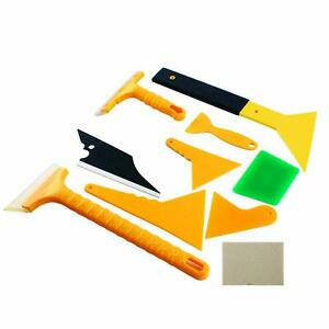 10pcs Wrapping Vinyl Squeegee Film Application Auto Car Window Tint Tools Kit