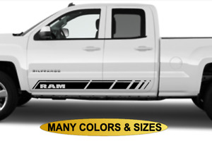 Dodge Ram Side Stripe Decal Sticker Vinyl Graphic 4x4 Racing Rocker Panel