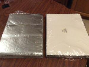 2 Pack 1000 Total Insulated Foil Sandwich Wrap Sheets 10 1 2 X 14
