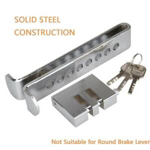 8 Hole Brake Pedal Lock Security Anti Theft Car Stainless Steel Clutch Lock