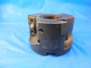 Valenite Economizer 3 Dia Facemill Mcn90 306 5r3 Holds 3 Inserts Made In Usa