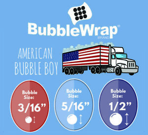Bubble Wrap Small Bubble 3 16 Medium 5 16 Large 1 2 24 12 48 Rolls