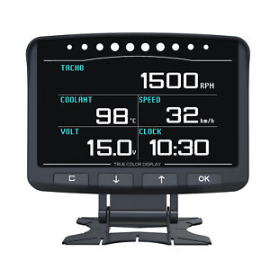 Autool X50 Pro Obd2 Smart Digital Display Meter Overspeed Alarm Engine Monitor