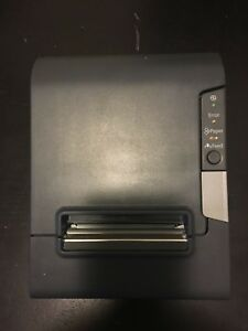 Used Epson Tm t88v Point Of Sale Thermal Printer