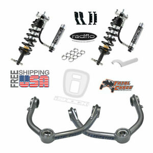 Radflo Shocks Total Chaos Mid Travel Dodge Ram 1500 2010 Front Kit