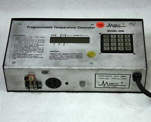 Memco 4406 04 Programmable Temperature Controller Oven Kiln Jewelry Dental Lab